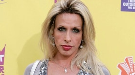 "FILE - In this July 22, 2007 file photo, Alexis Arquette arrives at the ""Comedy Central Roast of Flavor Flav"" in Burbank, Calif. Arquette, the transgender character actress and sibling of actors David, Rosanna, Richmond and Patricia Arquette, died early Sunday, Sept. 11, 2016 in Los Angeles. She was 47.   (AP Photo/Matt Sayles, File)"