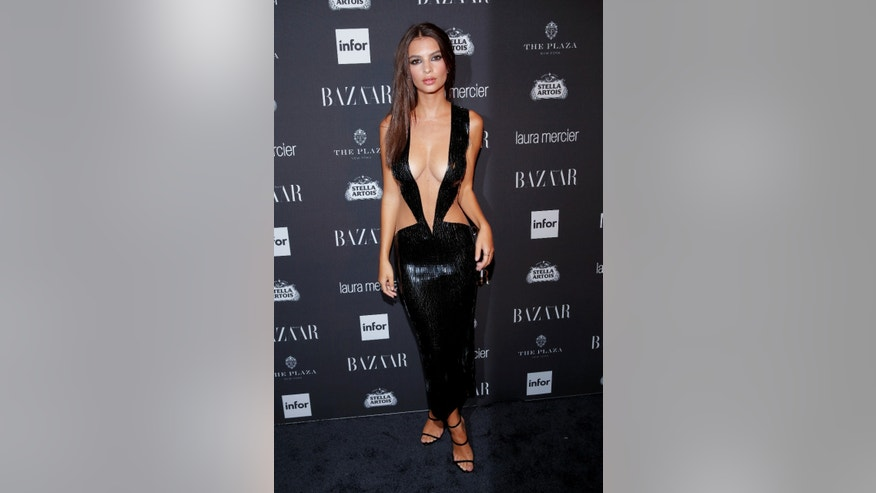 Emily Ratajkowski attends Harper's Bazaar's celebration of 'ICONS By Carine Roitfeld' at The Plaza Hotel during New York Fashion Week in Manhattan, New York, U.S., September 9, 2016.