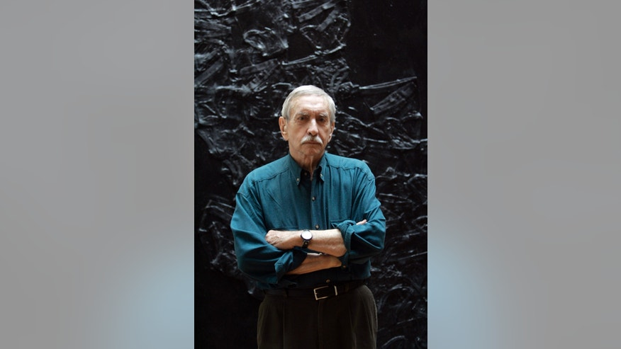 FILE - In this March 13, 2008, file photo, Edward Albee poses for a portrait in New York.