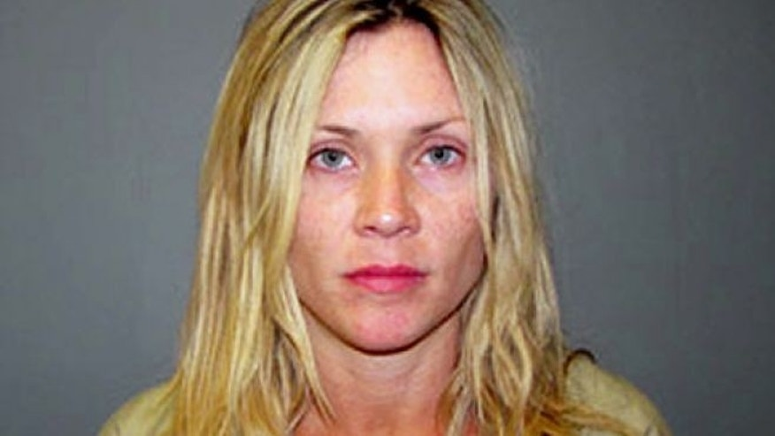 Actress Amy Locane-Bovenizer in her booking photo.