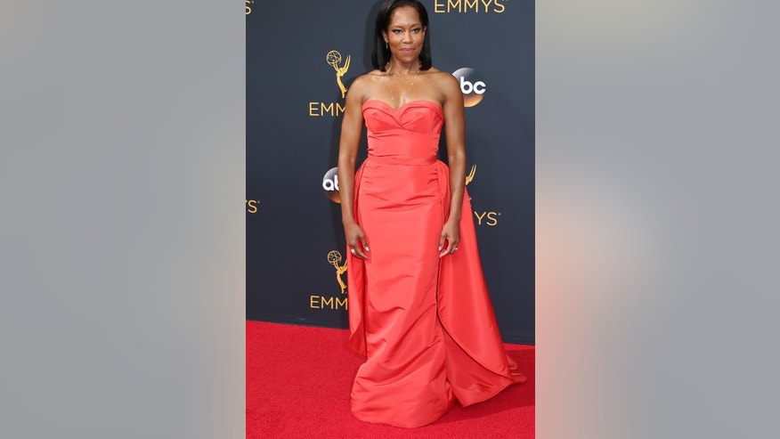 "Actress Regina King from the ABC series ""America Crime"" arrives at the 68th Primetime Emmy Awards in Los Angeles, California U.S., September 18, 2016.  REUTERS/Lucy Nicholson - RTSOBTU"