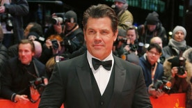 Cast member Josh Brolin arrives on the red carpet for the screening of the movie 'Hail, Caesar!', during the opening gala of the 66th Berlinale International Film Festival, in Berlin, Germany February 11, 2016.      REUTERS/Fabrizio Bensch   - RTX26JD7