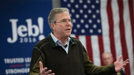 Republican presidential candidate, former Florida Gov. Jeb Bush speaks during a campaign stop at Sturm, Ruger & Co. Inc., Thursday, Jan. 21, 2016, in Newport, N.H. (AP Photo/John Minchillo)