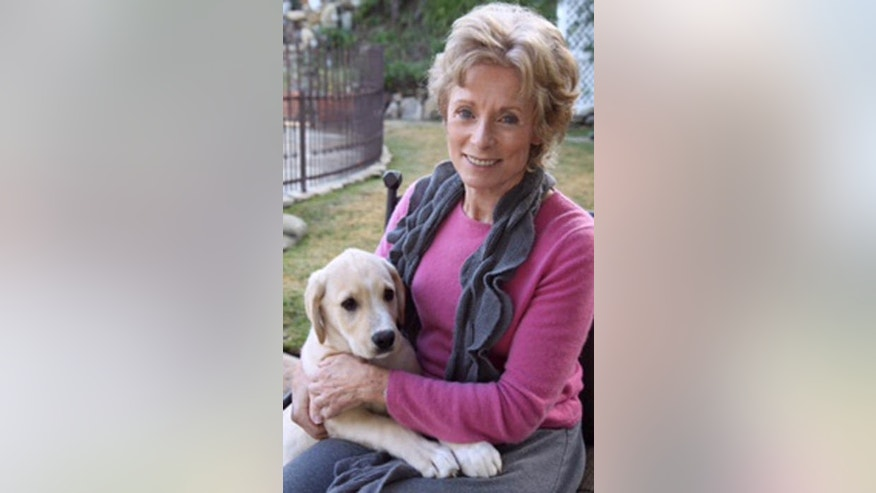"""Sound of Music actress Charmian Carr is seen in an undated photo provided by the Carr family."