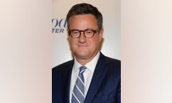 FILE - In this April 11, 2012 file photograph taken by AP Images for The Hollywood Reporter, 'Morning Joe' host Joe Scarborough arrives at The Hollywood Reporter 35 Most Powerful People in Media event in New York. Scarborough's 25-year-old son fractured his skull in a fall down a flight of stairs on Sept. 22, 2016. (Evan Agostini/AP Images for The Hollywood Reporter, File)