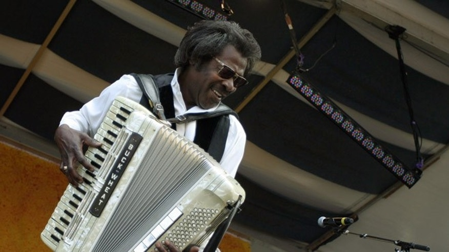 Louisiana musician Buckwheat Zydeco has died at the age of 68.