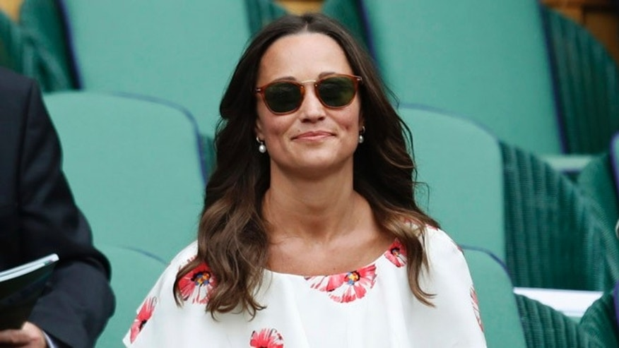 A man has been arrested for reportedly trying to sell photos hacked from Pippa Middleton's phone.