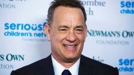 """Actor Tom Hanks arrives for """"An Evening of SeriousFun Celebrating the Legacy of Paul Newman"""" event in New York March 2, 2015."""