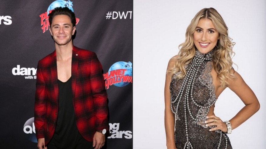 "Sasha Farber, left and Emma Slater of ABC's ""Dancing with the Stars."""