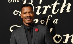 """FILE - In this Sept. 21, 2016 file photo, Nate Parker, the director, screenwriter and star of """"The Birth of a Nation,"""" poses at the premiere of the film in Los Angeles. In an interview with """"60 Minutes,"""" Parker was unapologetic for a 17-year-old rape case that has surrounded his film. In excerpts from the interview to air Sunday, Parker said he was """"falsely accused"""" and declined to make any apology.  (Photo by Chris Pizzello/Invision/AP, File)"""