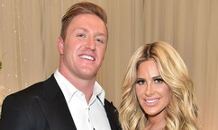 ATLANTA, GA - MAY 06:  Kroy Biermann and  Kim Zolciak Biermann attend Kim Zolciak's Birthday Party on May 6, 2016 in Atlanta, Georgia.  (Photo by Paras Griffin/Getty Images)