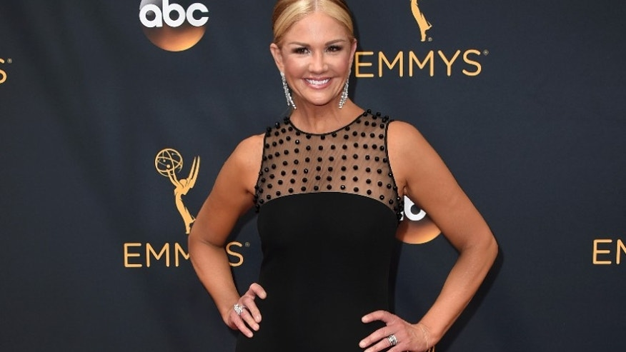 In this Sunday, Sept. 18, 2016, file photo, Nancy O'Dell arrives at the 68th Primetime Emmy Awards at the Microsoft Theater in Los Angeles.