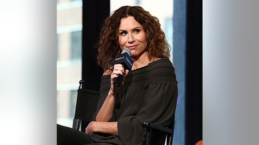 "NEW YORK, NY - OCTOBER 11:  Actress Minnie Driver attends the Build Series presents Minnie Driver discussing The ABC Show ""Speechless"" at AOL HQ on October 11, 2016 in New York City.  (Photo by Astrid Stawiarz/Getty Images)"