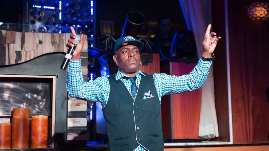 LAS VEGAS, NV - AUGUST 15: Coolio performs at a Starry Night for Make A Wish of Southern Nevada at Hyde at The Bellagio in Las Vegas, Nevada on August 15, 2015. Credit: GDP Photos/MediaPunch/IPX