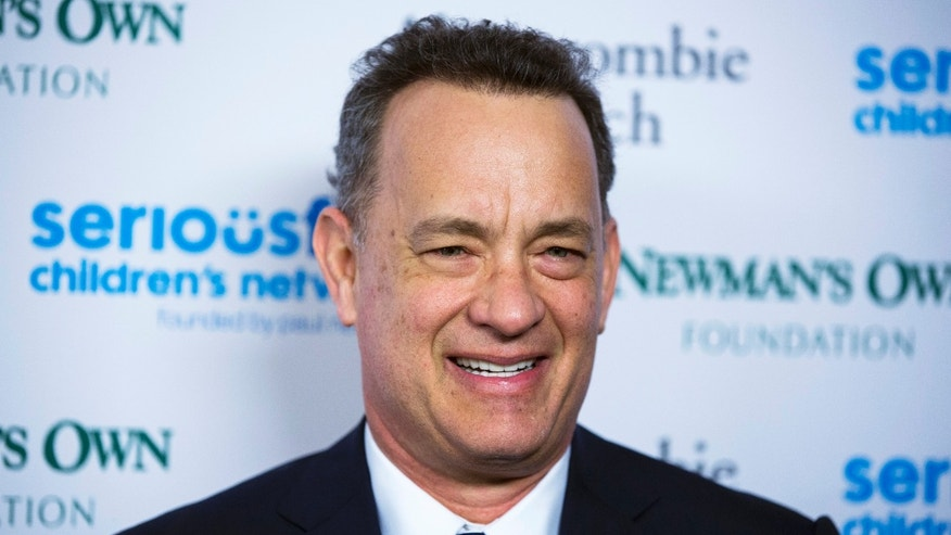 "March 2, 2015. Tom Hanks arrives for ""An Evening of Serious Fun Celebrating the Legacy of Paul Newman"" event in New York."