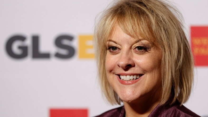 In this Friday, Oct. 21, 2011, file photo, television host Nancy Grace arrives at the 7th annual GLSEN Respect Awards in Beverly Hills, Calif.