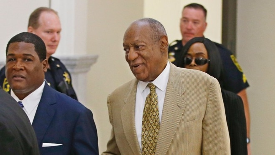 Bill Cosby enters Pennsylvania courtroom in July, 2016.