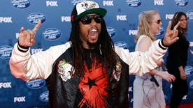 Lil Jon arrives at the American Idol Finale on Wednesday, May 25, 2011, in Los Angeles. (AP Photo/Matt Sayles)