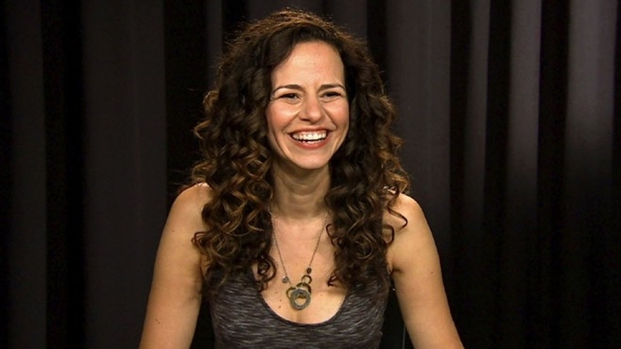 Mandy Gonzalez during an interview in New York on Sept. 29, 2016.