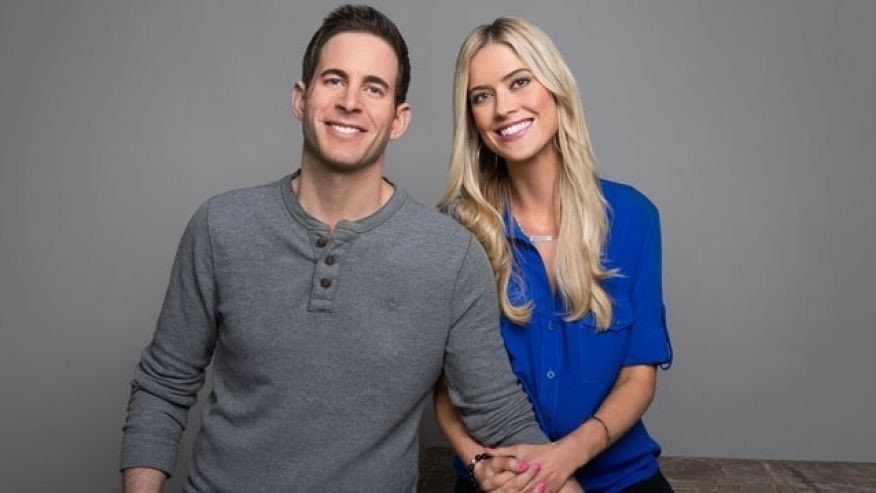 Tarek and Christina El Moussa.
