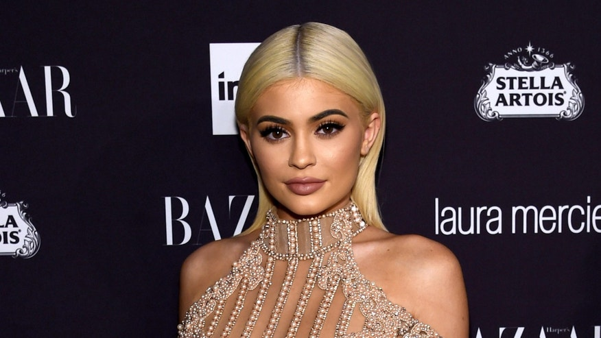 "NEW YORK, NY - SEPTEMBER 09:  Kylie Jenner attends Harper's Bazaar's celebration of ""ICONS By Carine Roitfeld"" presented by Infor, Laura Mercier, and Stella Artois  at The Plaza Hotel on September 9, 2016 in New York City.  (Photo by Jamie McCarthy/Getty Images for Harper's Bazaar)"