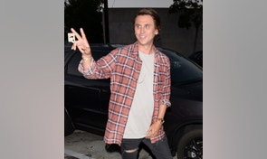 Kim Kardashian's BFF Jonathan Cheban treats his mom Galina to dinner at celebrity hot spot Craig's in West Hollywood. July 12, 2016 X17online.com