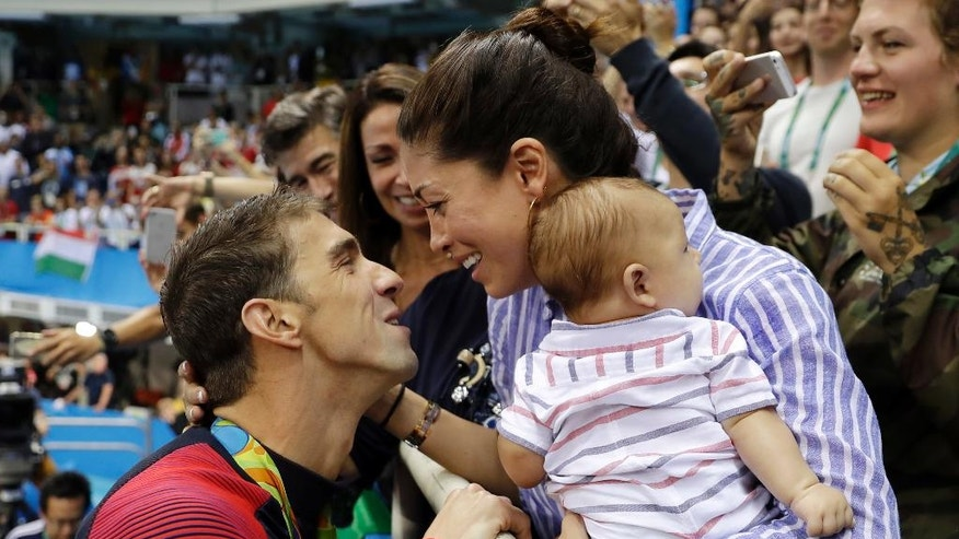 Michael Phelps on secret marriage and new baby