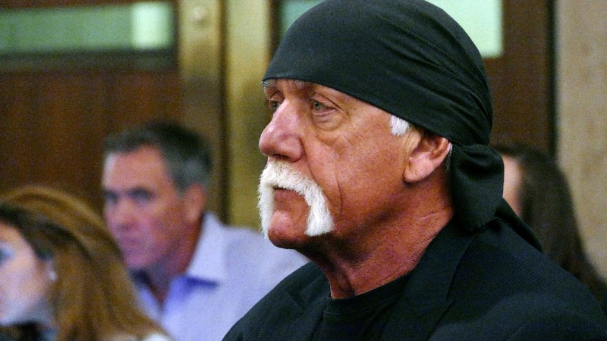 In this May 25, 2016 file photo, Hulk Hogan, whose real name is Terry Bollea, appears in court in St. Petersburg, Fla.