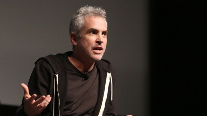 NEW YORK, NY - APRIL 20:  Director Alfonso Cuaron speaks on stage during Tribeca Talks Directors Series: Alfonso Cuaron at SVA Theatre 1 on April 20, 2016 in New York City.  (Photo by Monica Schipper/Getty Images for Tribeca Film Festival)