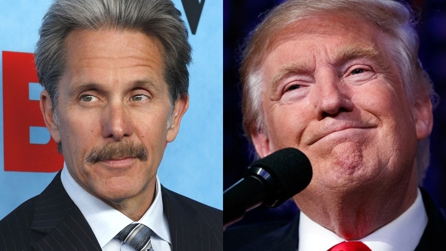 Actor Gary Cole (left) and President Elect Donald Trump.