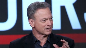 "Actor Gary Sinise, of the CBS show, ""Criminal Minds: Beyond Borders"", speaks at the Television Critics Association (TCA) Winter Press Tour in Pasadena, California, January 12, 2016. REUTERS/David McNew - RTX223ET"