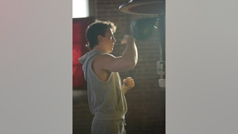 "In this image released by Open Road Films, Miles Teller portrays boxer Vinny Pazienza in the biopic, ""Bleed For This,"" opening on November 18. (Seacia Pavao/Open Road Films via AP)"