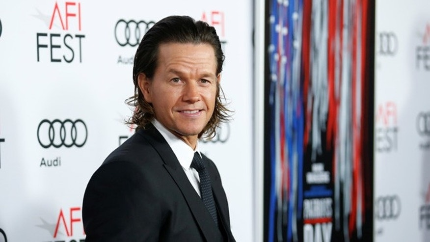 "Mark Wahlberg says filming ""Patriots Day"" about the Boston Marathon was difficult to shoot."