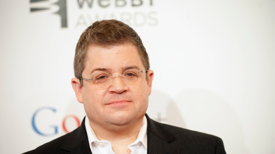 Comedian Patton Oswalt attends the 16th annual Webby Awards in New York May 21, 2012.