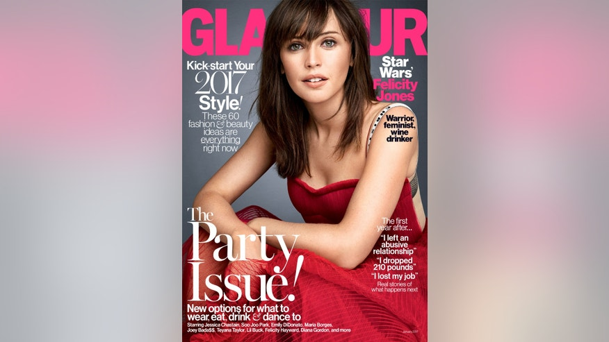 Felicity Jones glamour cover