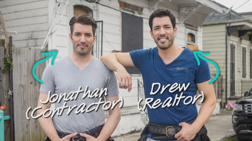 jonathan and drew scott talk girlfriends new spinoff - How Tall Is Jonathan Scott