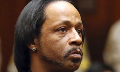 FILE - In this, Oct. 27, 2015, file photo, comedian Katt Williams appears in court for his arraignment on robbery charges in Los Angeles. Williams has pleaded no contest to assault and battery charges stemming from an incident with a bodyguard in north Georgia. The comedian, whose real name is Micah Sierra Williams, was charged in March after authorities said he threatened the man while an acquaintance beat him with a baseball bat. Defense attorney Drew Findling said Williams agreed to a plea deal on Thursday, Dec. 1, 2016. (Frederick M. Brown/Pool via AP, File)