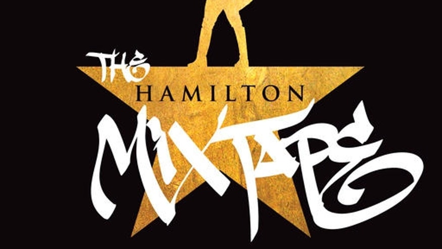 "This CD cover image released by Atlantic Records shows ""The Hamilton Mixtape."" The 23-track âHamilton Mixtape,â set for release Friday, features covers by such artists as Usher, Kelly Clarkson, Nas, Ben Folds, Alicia Keys, Ashanti, John Legend, Sia, Common, Wiz Khalifa, Queen Latifah, The Roots, Jill Scott and Busta Rhymes. (Atlantic Records via AP)"