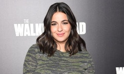 "NEW YORK, NY - OCTOBER 09:  Alanna Masterson attends AMC's ""The Walking Dead"" Season 6 Fan Premiere Event 2015 at Madison Square Garden on October 9, 2015 in New York City.  (Photo by Jamie McCarthy/Getty Imagesfor AMC)"
