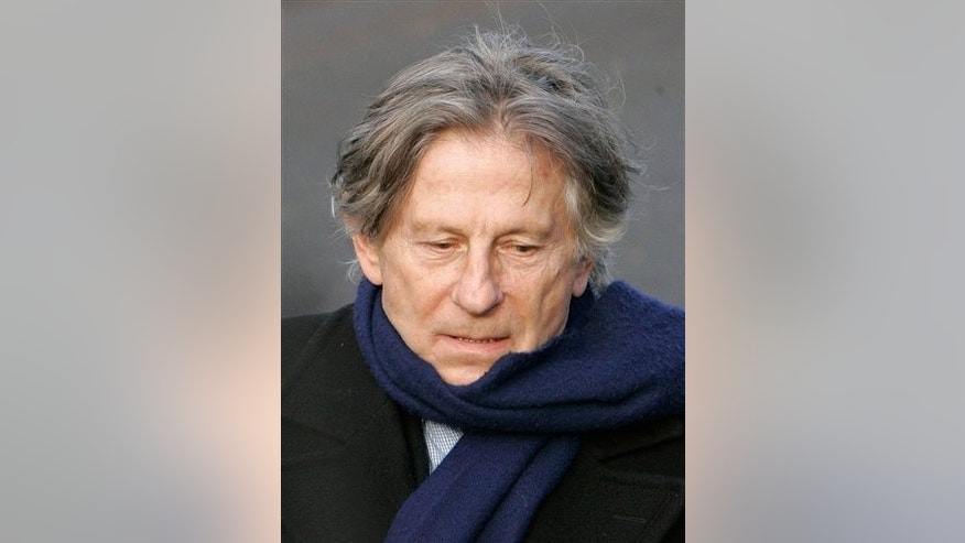 Polish-born film director Roman Polanski during the burial ceremony for French film maker Claude Berri in Montrouge, outside Paris, in this Jan. 15, 2009 file photo.