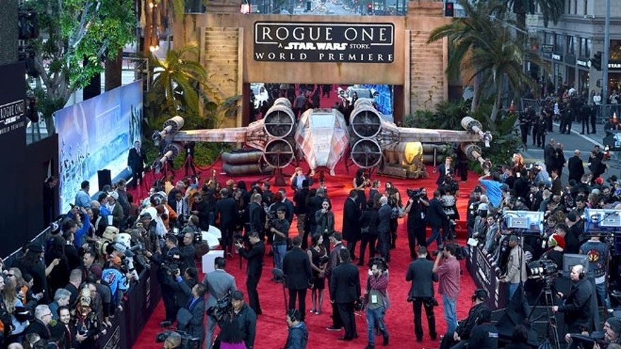 """Rogue One: A Star Wars Story"" had its world premiere in Los Angeles on Saturday, Dec. 10."