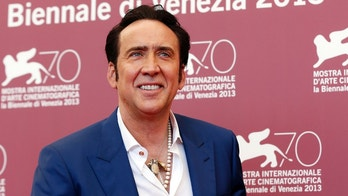 "Actor Nicolas Cage poses during a photocall for the movie ""Joe"", directed by David Gordon Green, during the 70th Venice Film Festival in Venice August 30, 2013. The movie debuts at the festival. REUTERS/Alessandro Bianchi (ITALY - Tags: ENTERTAINMENT SOCIETY HEADSHOT PROFILE) - RTX131IB"