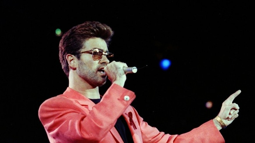 George Michael has topped the music charts for the first time in years.