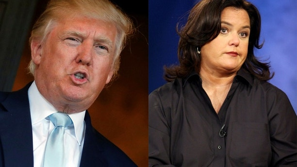 donald trump rosie odonnell reuters
