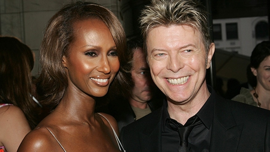 Iman paid tribute to her late husband David Bowie on Instagram.