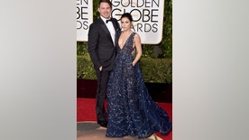 Channing Tatum, left, and Jenna Dewan Tatum arrive at the 73rd annual Golden Globe Awards on Sunday, Jan. 10, 2016, at the Beverly Hilton Hotel in Beverly Hills, Calif. (Photo by Jordan Strauss/Invision/AP)