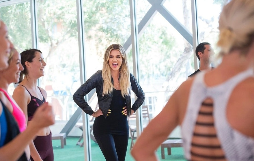 "REVENGE BODY WITH KHLOE KARDASHIAN --  ""Untying The Knot & Giraffically Sexy"" Episode 105 -- Pictured: Khloe Kardashian -- (Photo by: Nicole Weingart/E! Entertainment)"