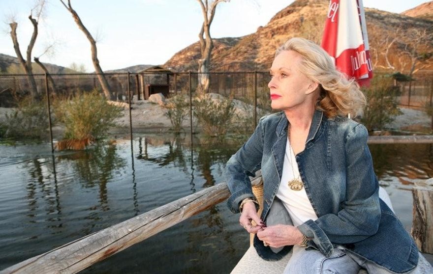 Tippi%20Hedren%20at%20Shambala%20Preserve.%20Photo%20courtesy%20of%20Bill%20Dow.