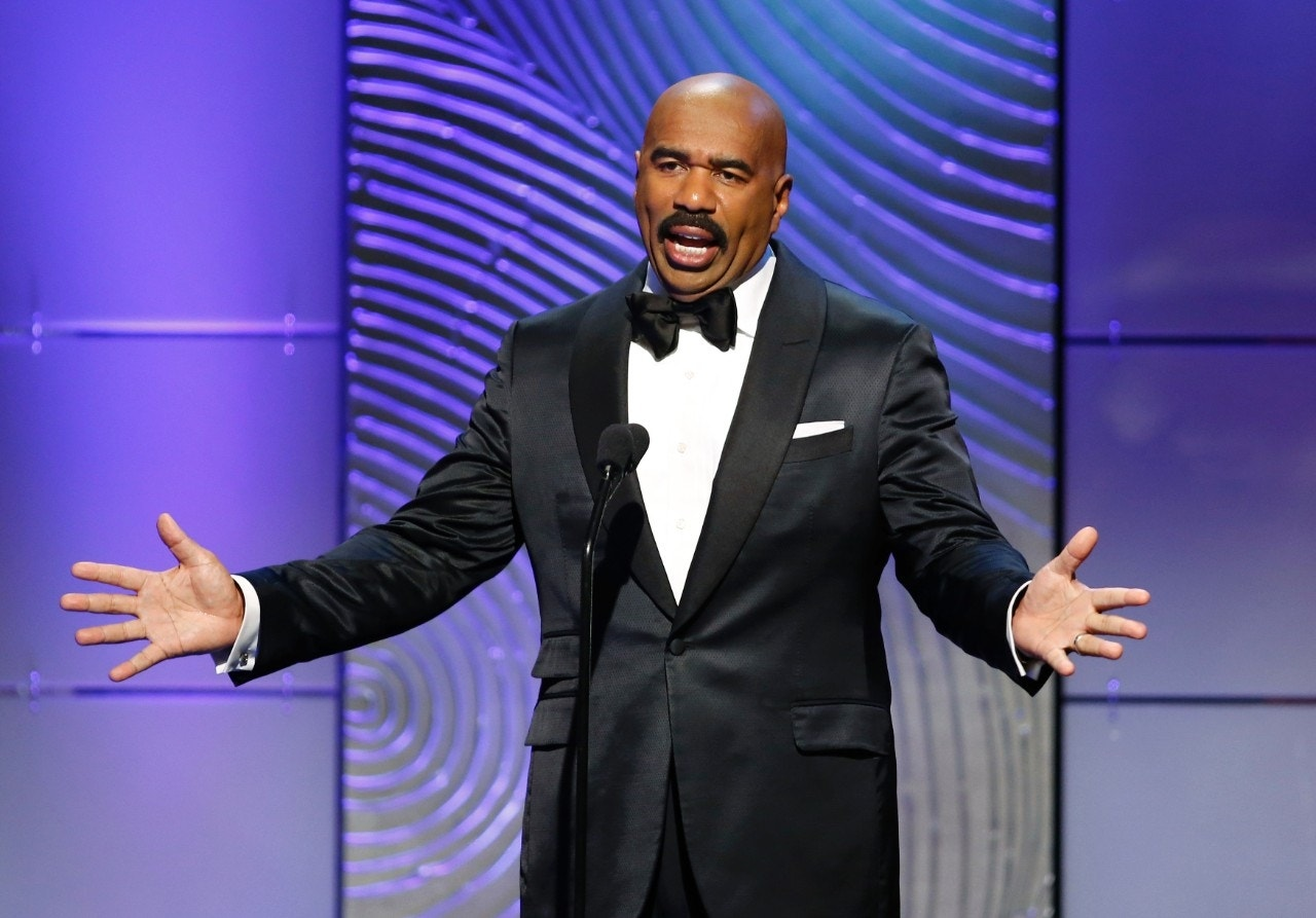 Steve Harvey faces backlash for mocking Asian men