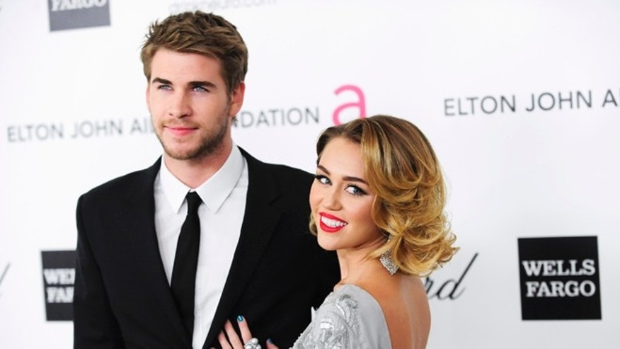 Liam Hemsworth celebrated his birthday with a party that included weed-themed gift bags. The night was documented by his fiancée Miley Cyrus.